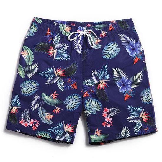 Evening Floral Swim Trunks