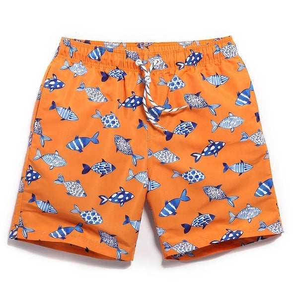 Plenty of Fish Swim Trunks