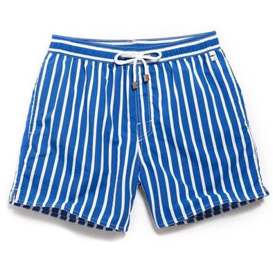 Vertical Stripes Swim Trunks