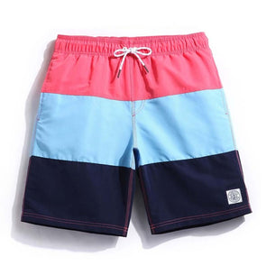 Section Stripes Swim Trunks