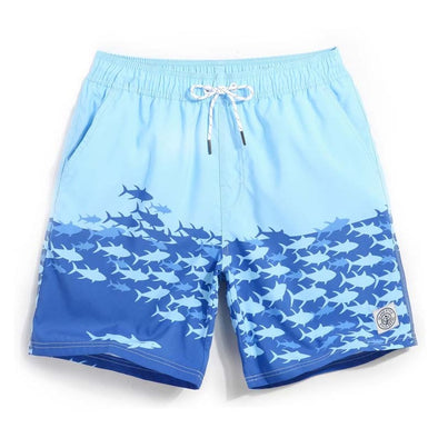 School of Fish Swim Trunks