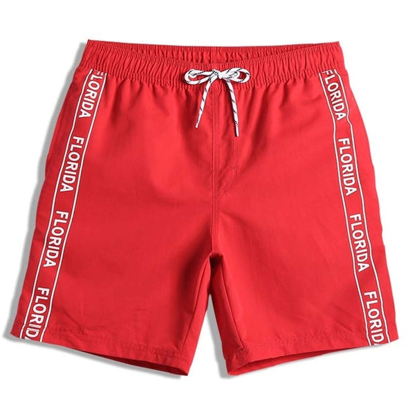 Florida Red Swim Trunks