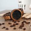 Black Pearl Wood Watch