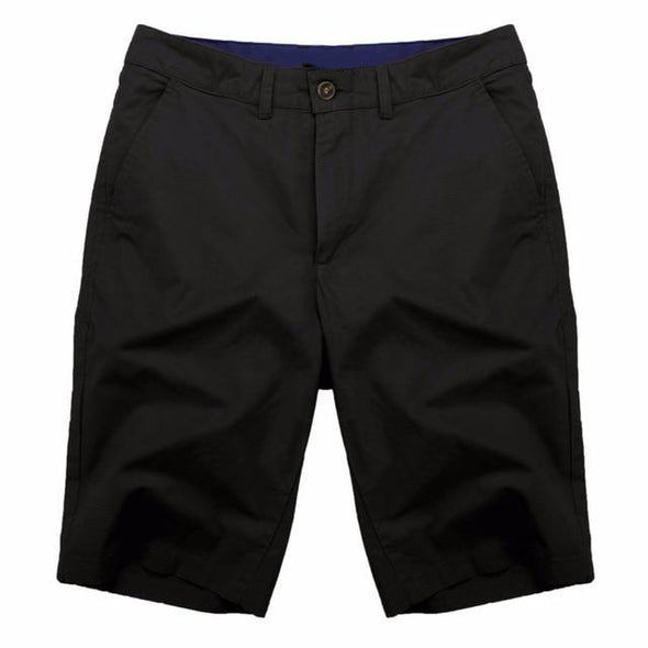 Solid Color Chino Shorts