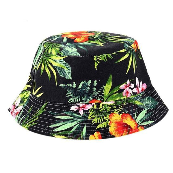 Hawaiian Floral Bucket Hat