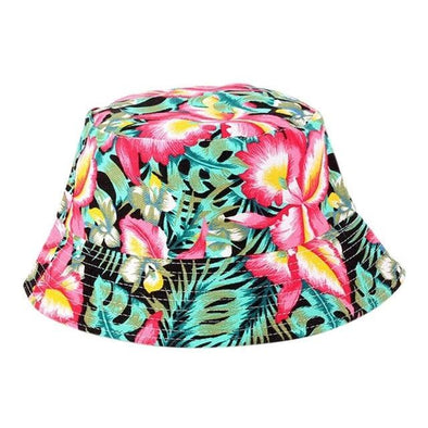 South Beach Floral Bucket Hat