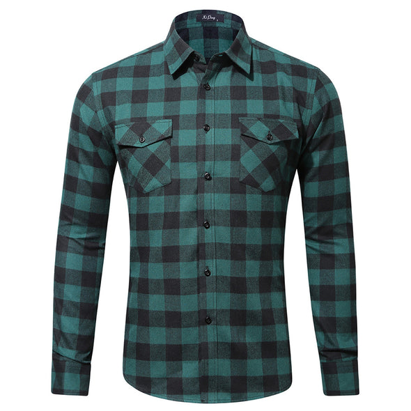 Forest Green Flannel
