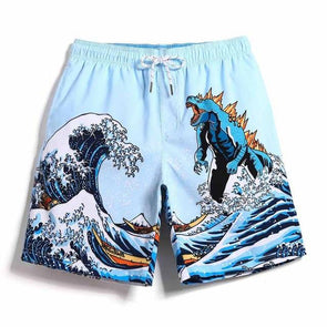 Monster Wave Swim Trunks