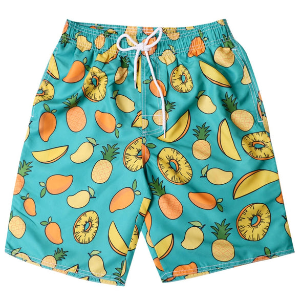 Fruit Salad Swim Trunks