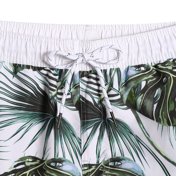 Beach Bush Swim Trunks
