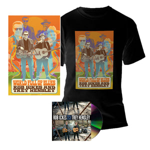 WORLD FULL OF BLUES CD Bundle