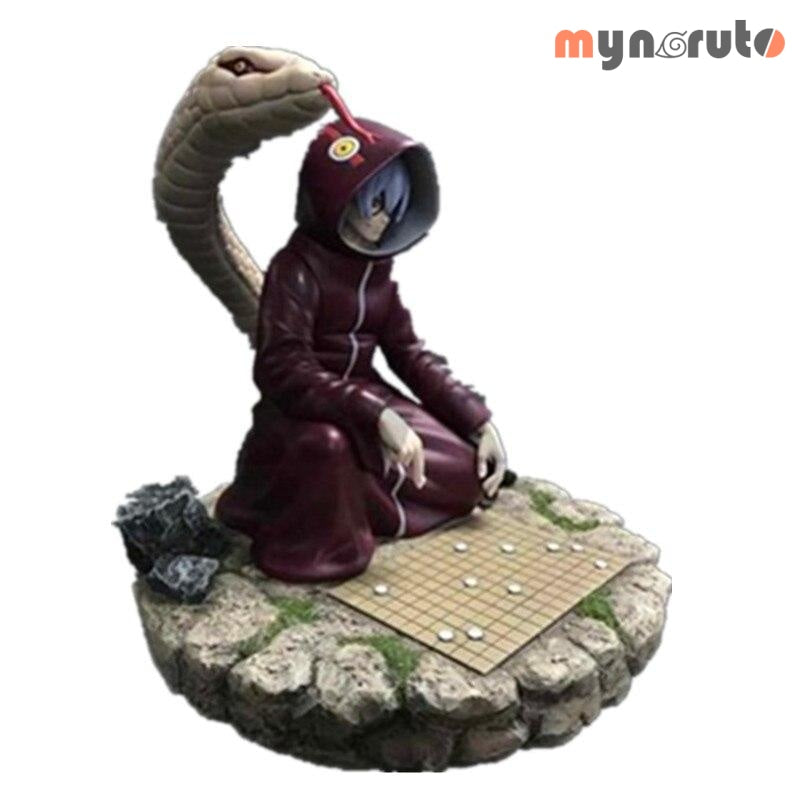 Naruto Medical Ninja Yakushi Kabuto Play Chess Scenes GK Resin Statue Action Figure Collection Model Toy X718 - MULTI - 1