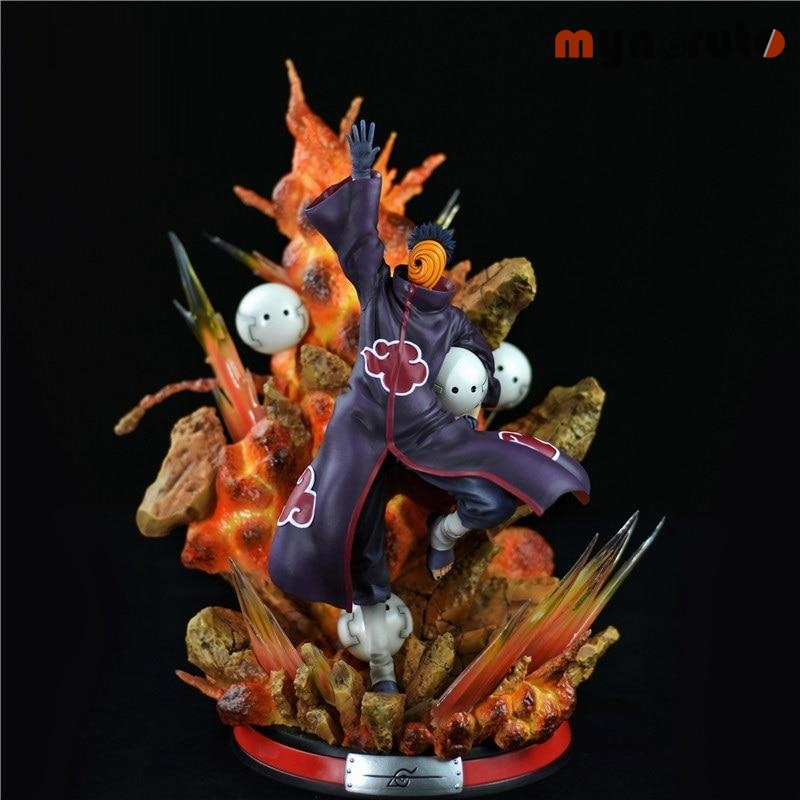 Naruto Akatsuki Organization Uchiha Obito Tobi 1/6 GK Resin Statue Action Figure Collection Model Toy X4171 - Multi - 1