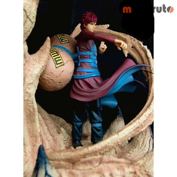 NARUTO 5 Generations The Wind Shadow Gaara Shuukaku 1/10 GK Resin Statue Action Figure Model Toy G2351 - MULTI - 2