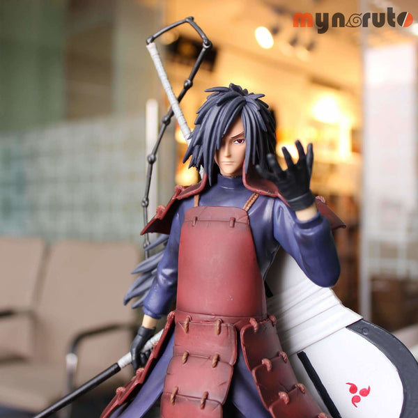 Newest 30CM Naruto Uchiha Madara Statue Action Figure 1/6 Uchiha Madara PVC Model collection christmas children gifts Toys. - 2