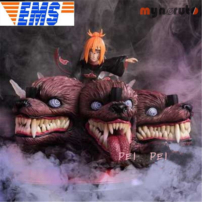 Statue NARUTO Akatsuki Nagato Pain Full-Length Portrait Limited Bust gk Resin Action Figure Collectible Model Toy P1620 - Red - 1