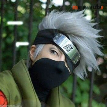 Perruque Naruto Kakashi - Pack Complet - 2