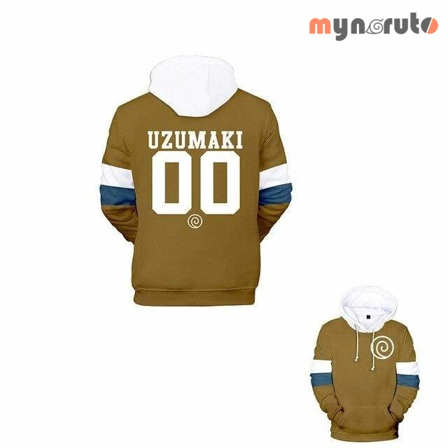 Sweat Baseball Uzumaki - Marron / XL - 3
