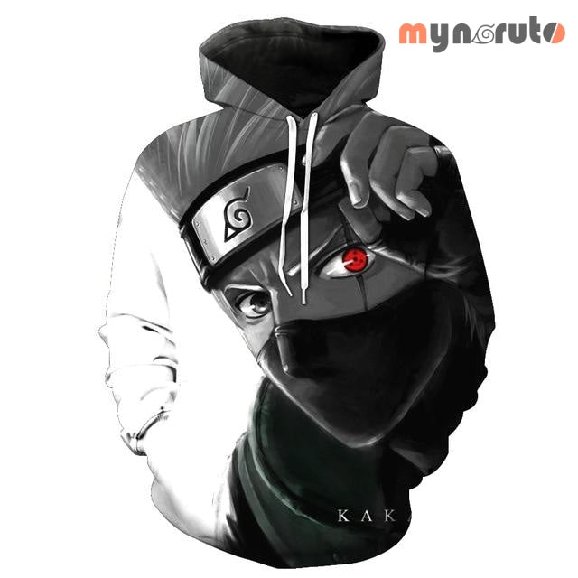 Sweat Naruto <br> Kakashi au Sharingan - XXXL - 1