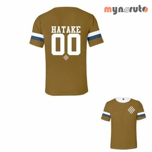 T-shirt Baseball Hatake - Marron / XXL - 1