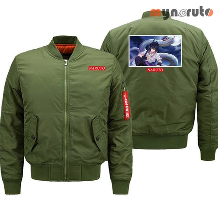 Bombers Sasuke - army green6 / 6XL / China - 2