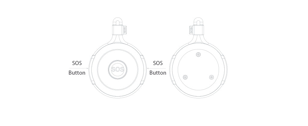 Wireless SOS pager