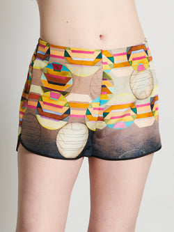 Coral Degrade- Short