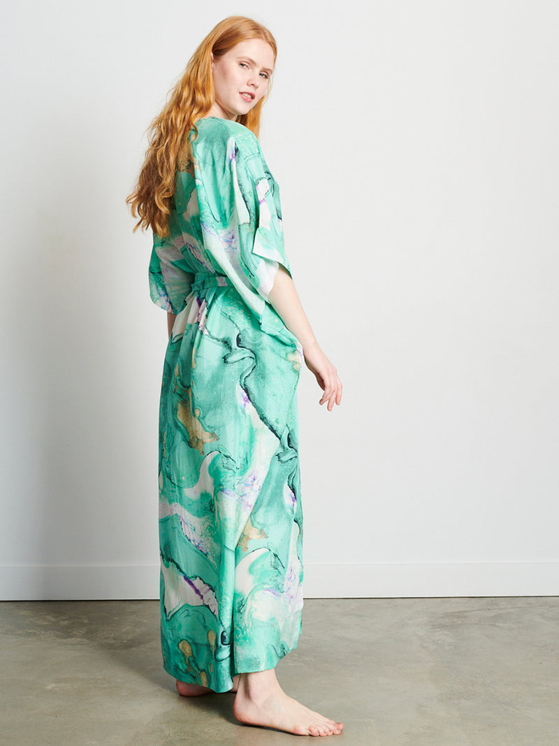 Barrier Reef - Long Kaftan