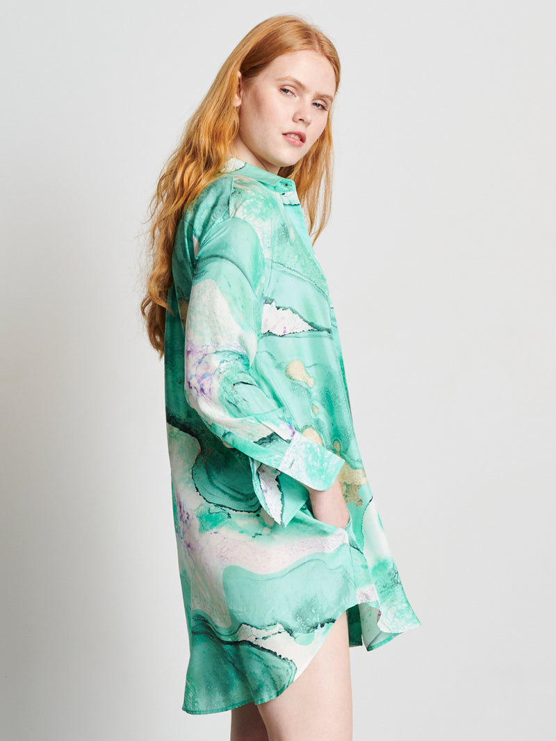 Barrier Reef - Boyfriend Shirt