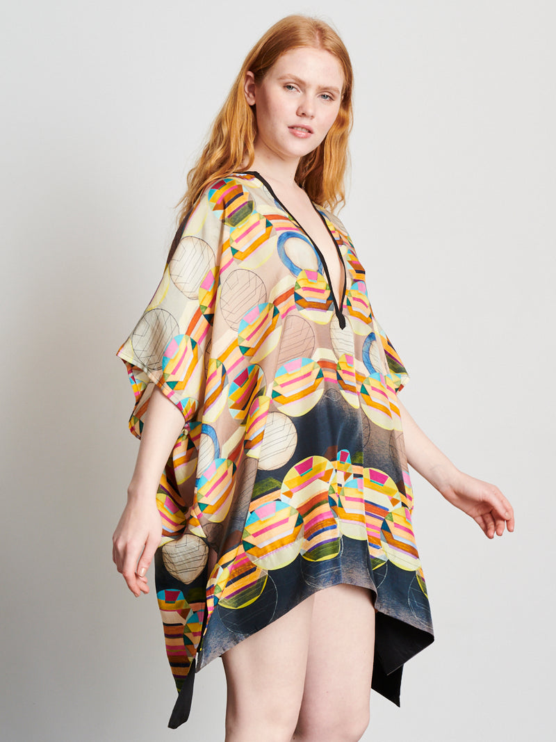 Coral Degrade - Kaftan