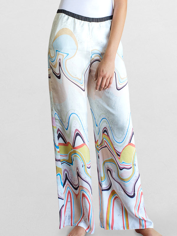 Waves Print - Signature Pant