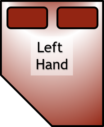 Left Hand Bed Example