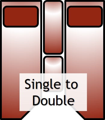 SIngle to double example