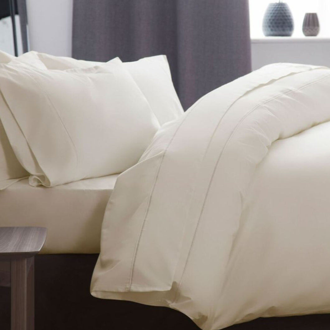 This duvet cover is of supreme high-quality Pure cotton, that is so soft and smooth against your skin it drapes across you and your bed with elegance and style. Machine washable, these high quality duvet covers get softer with every wash, the more you use them, the more indulgent they become.