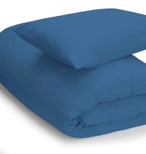 Cobalt coloured duvet set