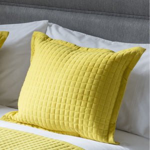 Lemon  Crompton Filled Cushion