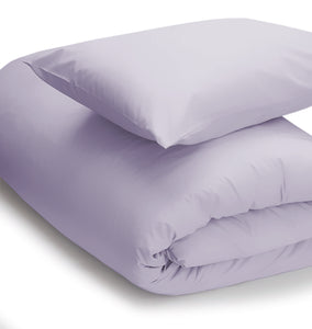 Heather coloured duvet set