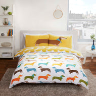 Sausage dog Double Duvet set
