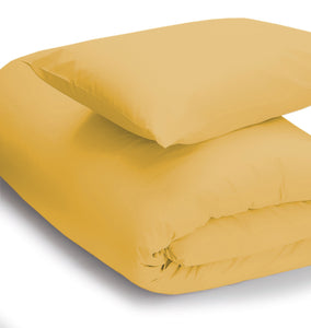 Saffron coloured duvet set