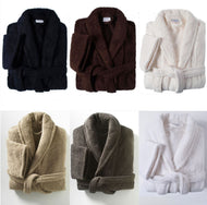 6 colours of bath robes
