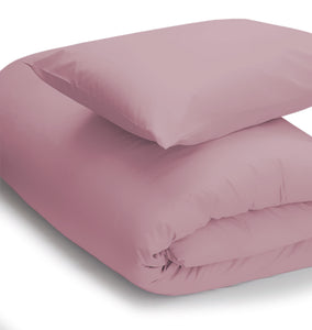 Blush coloured duvet set