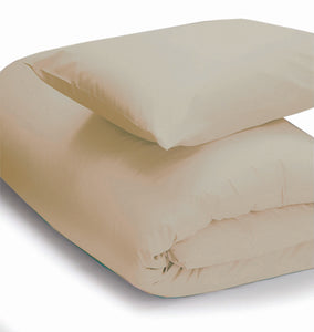 Cream coloured duvet set