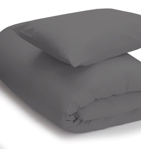 Charcoal coloured duvet set