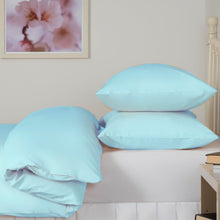 Load image into Gallery viewer, Ice Blue Double Duvet Set