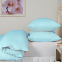 Load image into Gallery viewer, ice blue duvet set