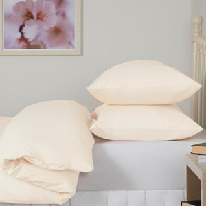 Ivory Double Duvet Set