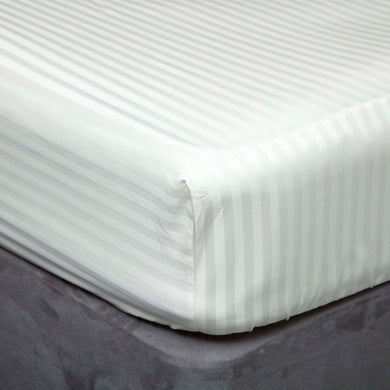 Hotel Suite 500TC Egyptian Cotton Fitted Sheet - Right Hand Bedshape