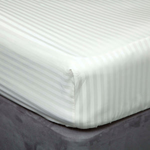 Hotel Suite 500TC Egyptian Cotton Fitted Sheet - Left Hand Bedshape