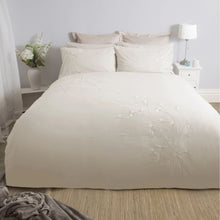 Load image into Gallery viewer, Raeya Double Duvet Set - Oyster