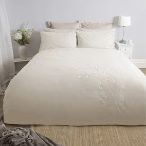 Raeya Duvet Set - Single - Duck Egg & Oyster